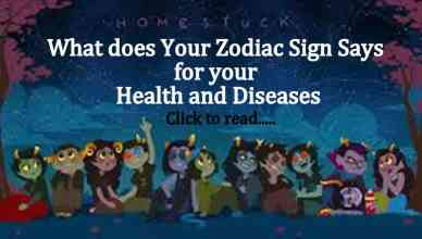 Zodiac sign and health