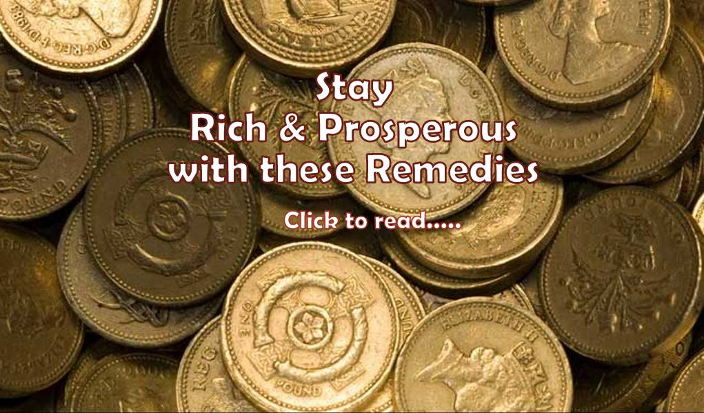 21+ Effective Remedies to become rich - Life In Vedas