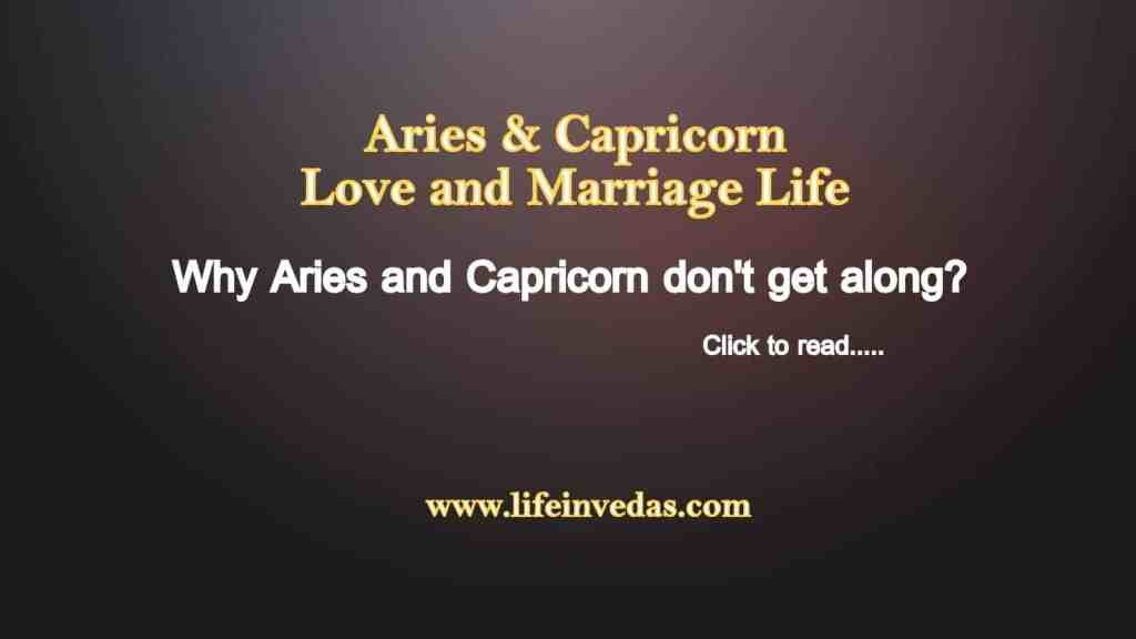Aries and Capricorn Compatibility Love, Marriage