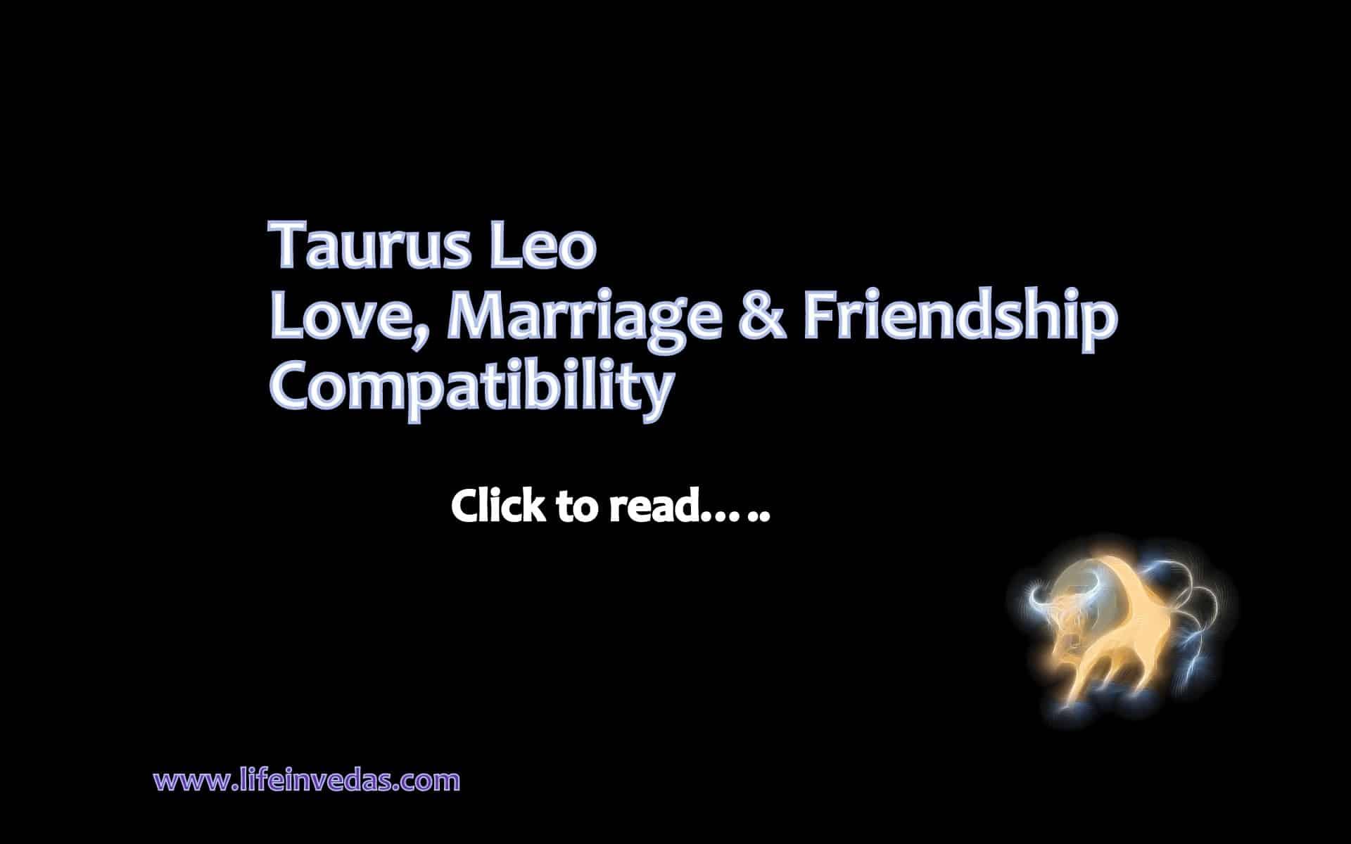 Best Friend match for Taurus