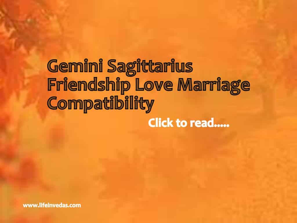 sagittarius and friendship