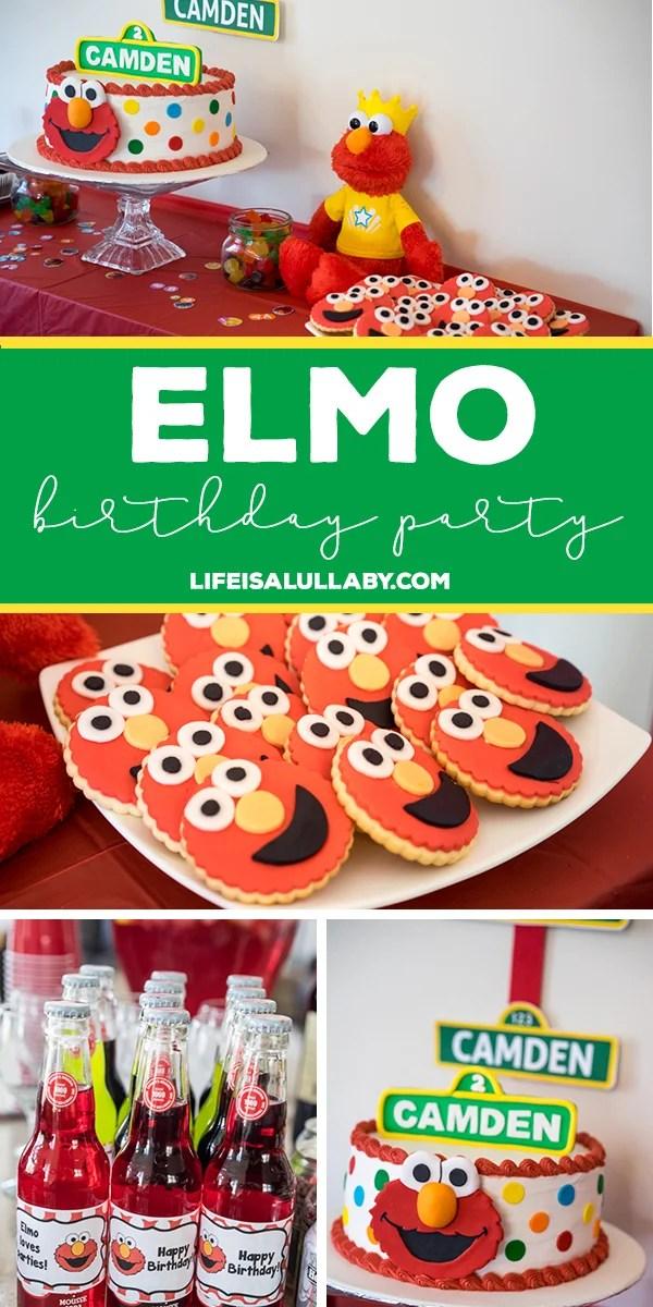 Elmo Birthday Party Ideas Free Printables Fun Ideas And More