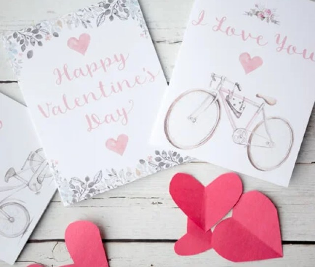 Cute Free Printable Valentines Day Card
