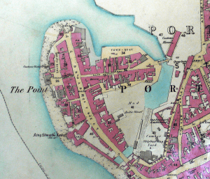 Portsmouth_point_OS25_inch_to_mile1858