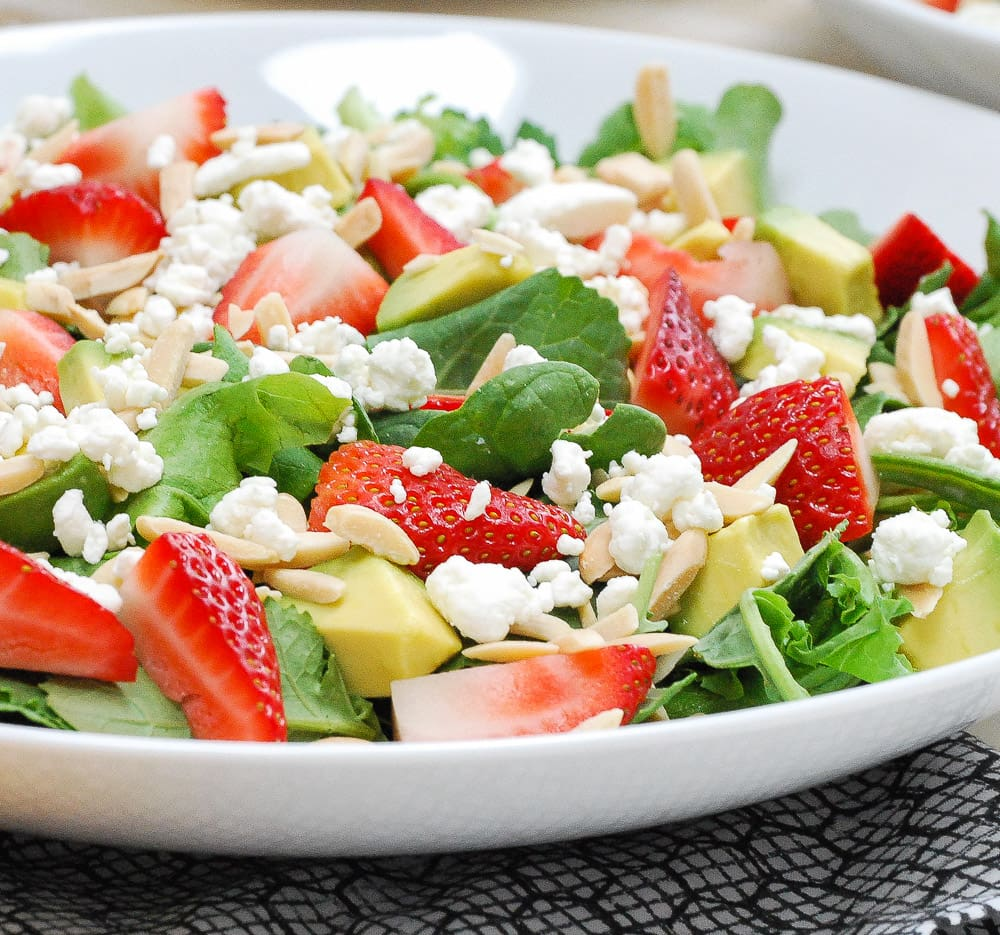 spinachstrawberrysalad