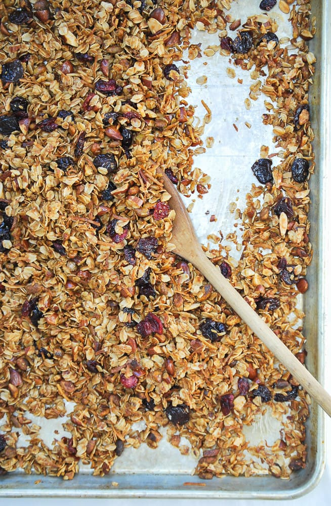 Coconut Cherry Granola-4