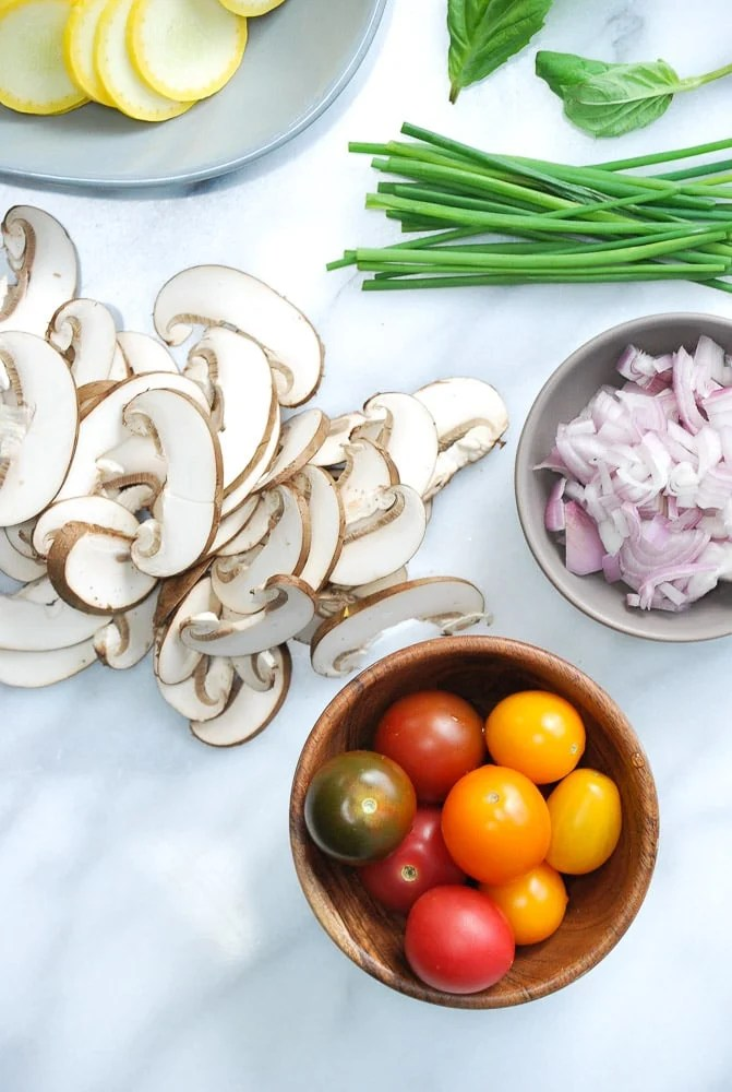 Zucchini Mushroom Frittata