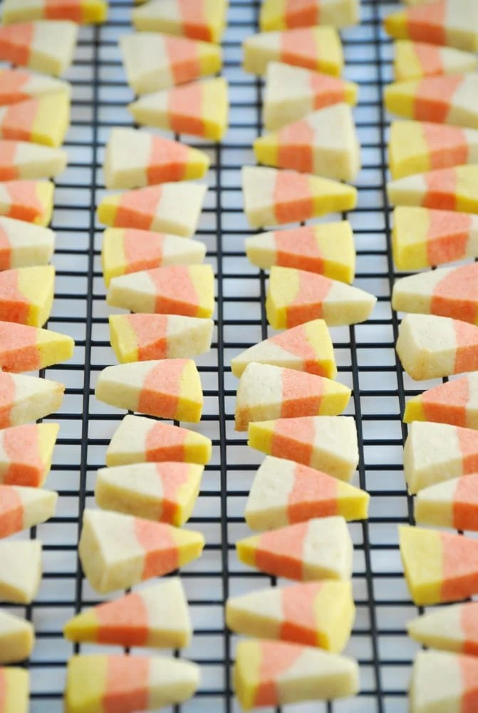 Candy Corn Sugar Cookies-11