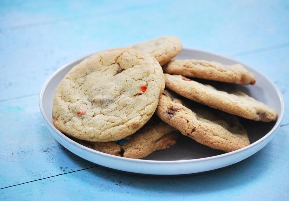 Halloween Candy Cookies-8