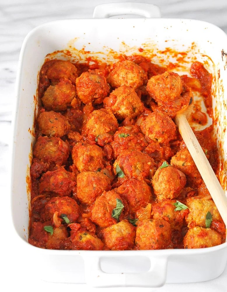 Turkey and Chicken Sausage Meatballs-5