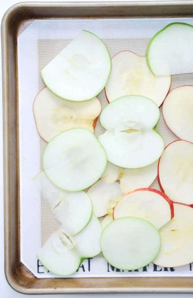 Baked Apple Chips-3