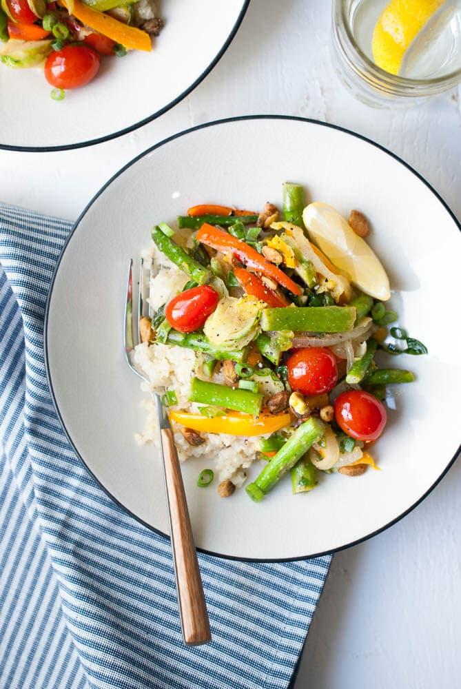 Cauliflower Rice Veggie Bowls-2