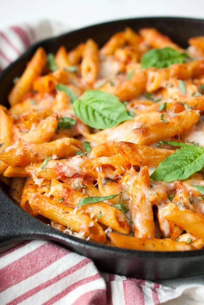Parmesan Chicken Baked Ziti-5