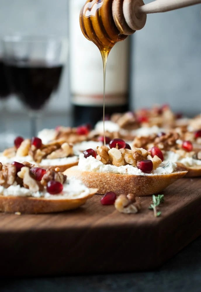 Goat Cheese Amp Walnut Crostini Life Is But A Dish