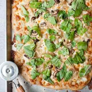 Garlic & Fennel Mushroom Pizza