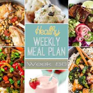 Weekly Meal Plan 86