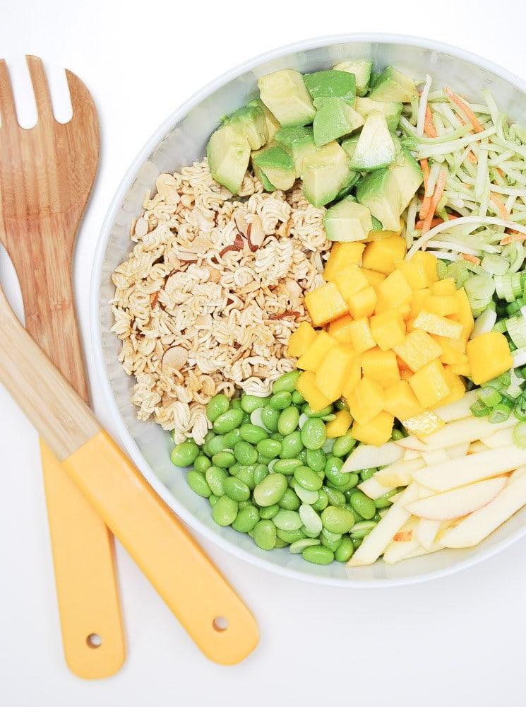Crunchy Asian Broccoli Slaw Salad