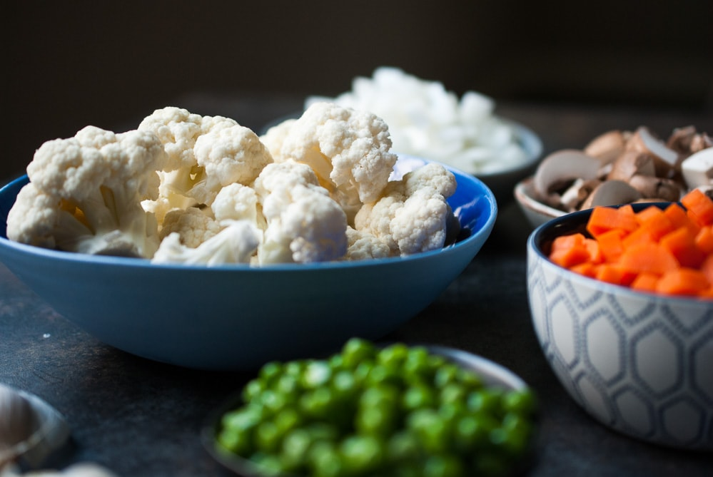 Quick & Easy Cauliflower Fried Rice