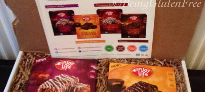 Enjoy Life #glutenfree Decadent soft baked bars + giveaway!