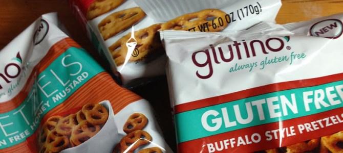 Glutino pretzels, a healthy choice for snacks