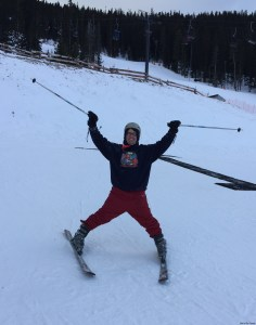 A Chicken Goes Skiing