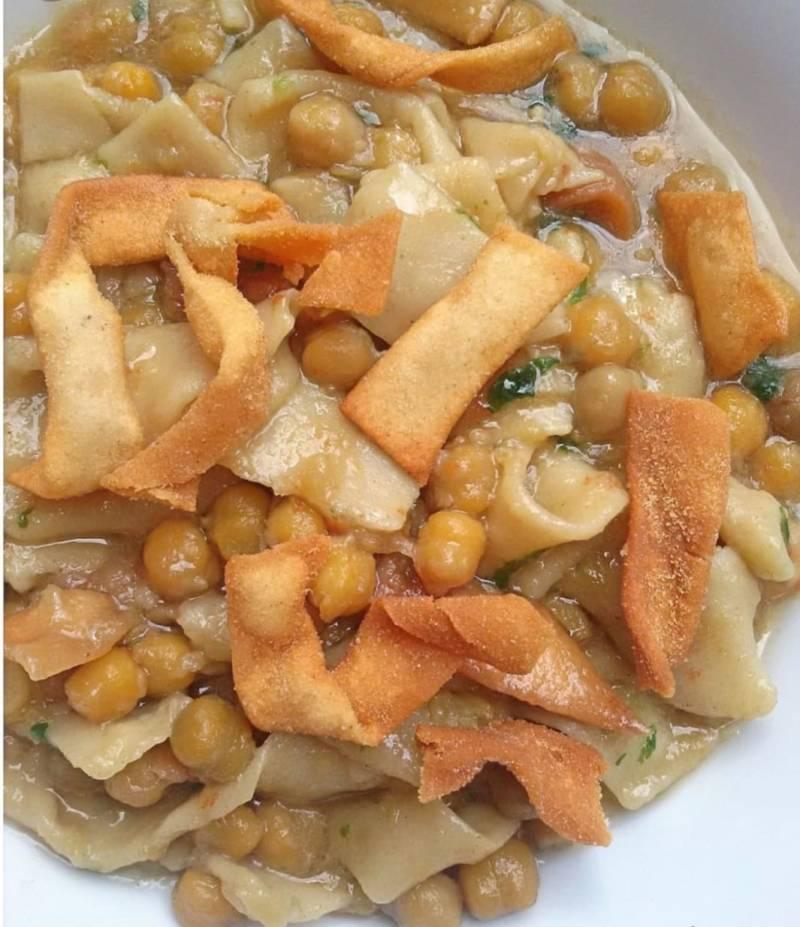 Ricetta Ciciri e Tria Michele il Cuoco della Quarantena