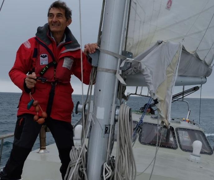 Alessandro Mazzetti, skipper di lunga esperienza, istruttore e scrittore