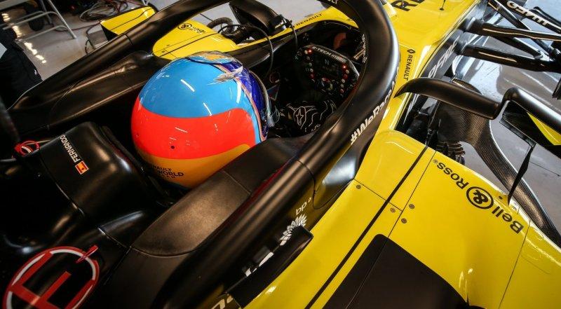 Fernando Alonso è tornato al volante di una Formula 1 per la prima volta dopo circa due anni.