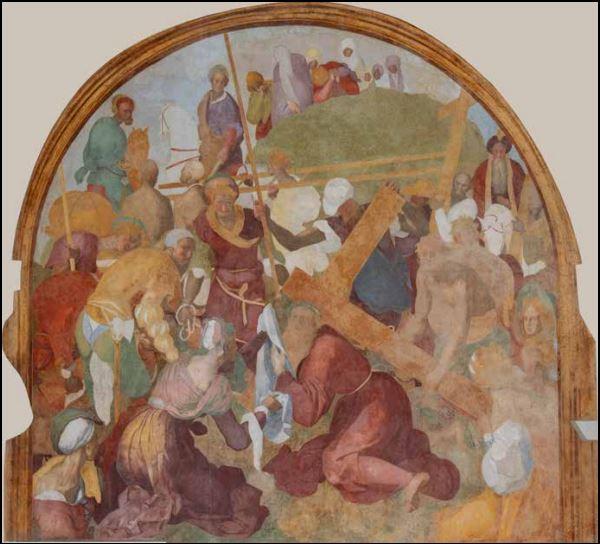 Jacopo Pontormo Salita al Calvario Certosa di Firenze