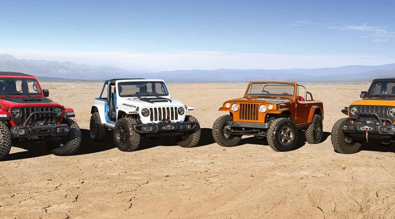 Concept ultra-performanti all'edizione 2021 dell'Easter Jeep Safari