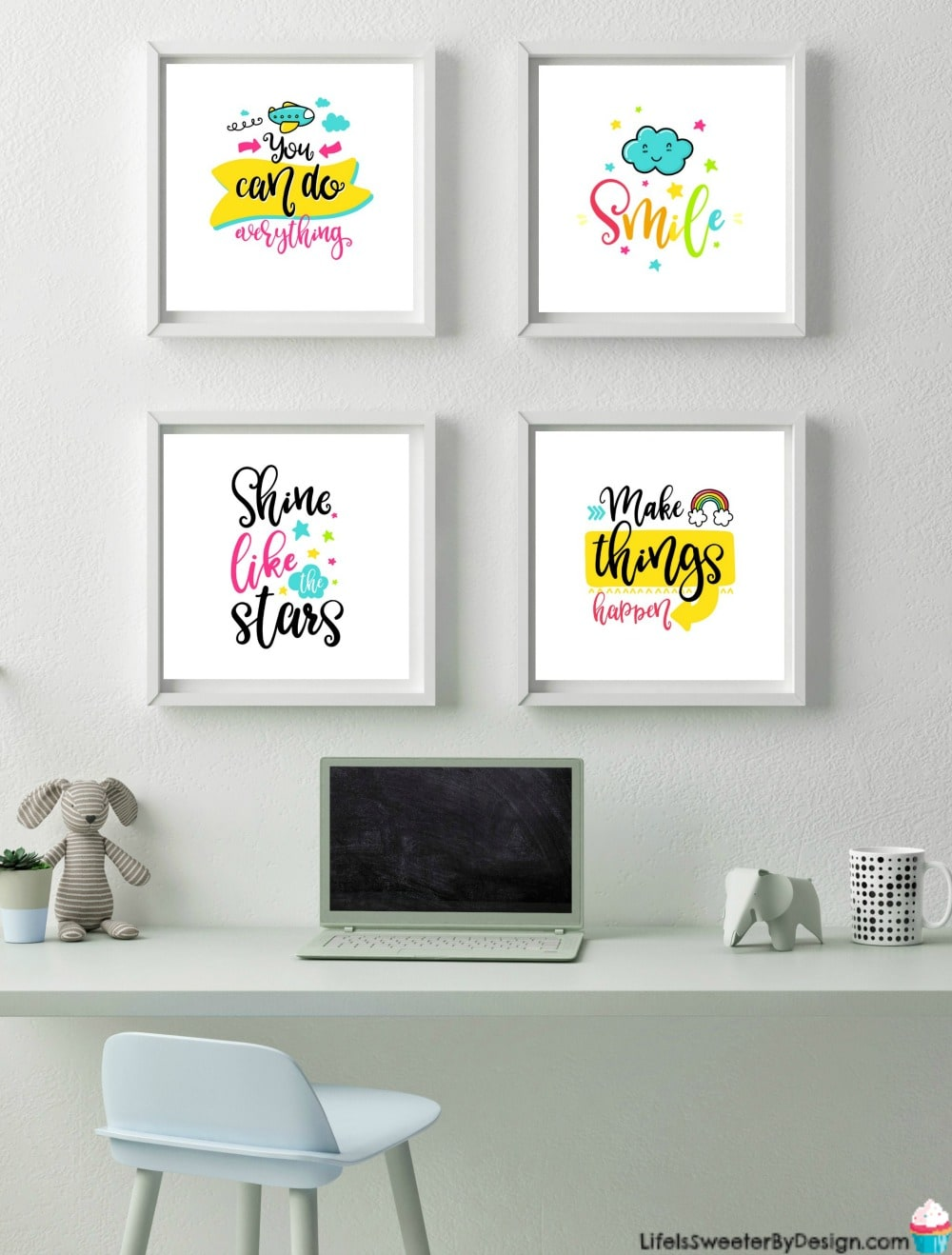 Printable Wall Art For A Little Girls Room Life Is