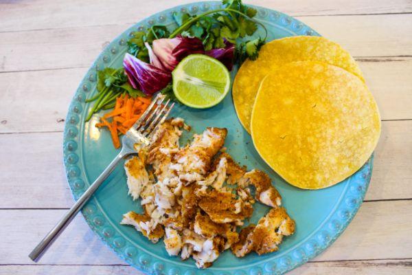 how to make Weight Watchers Cajun Fish Soft Tacos