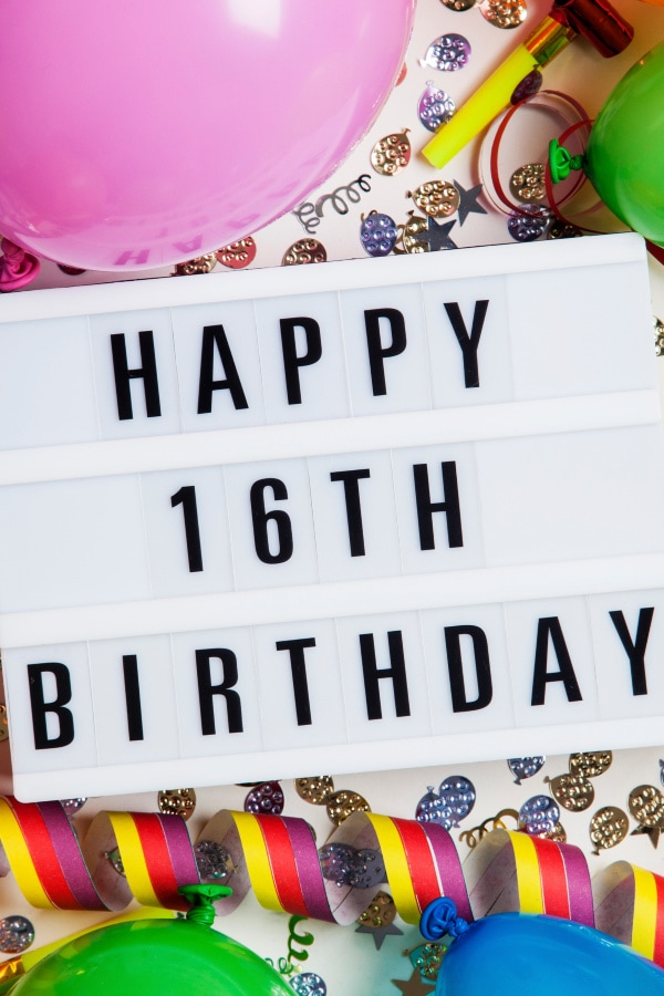 Sweet 16 Ideas For An Extra Special Birthday Life Is Sweeter By Design