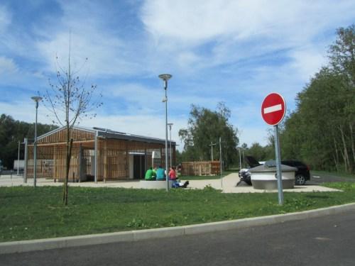 Geocachen Parkeerplaats