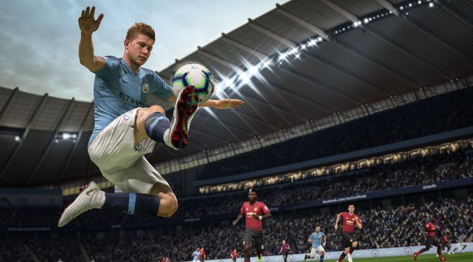 Hands-on compare with PES 19 and Fifa 19 at Gamescom