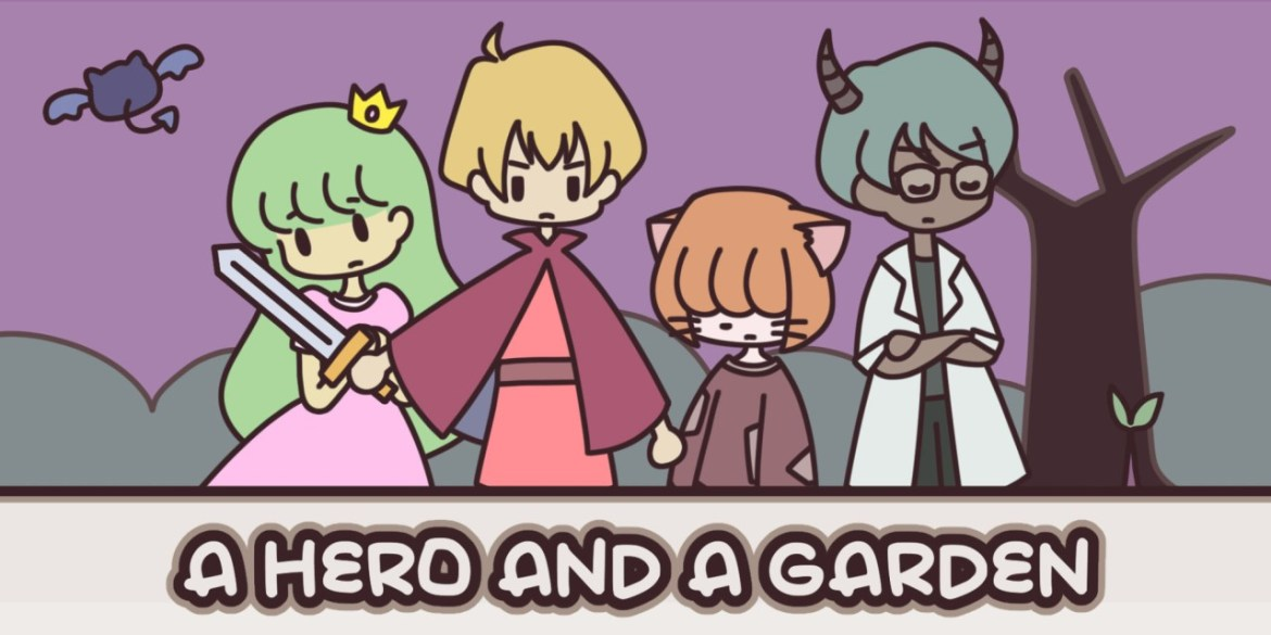 Short Review: A Hero and a Garden
