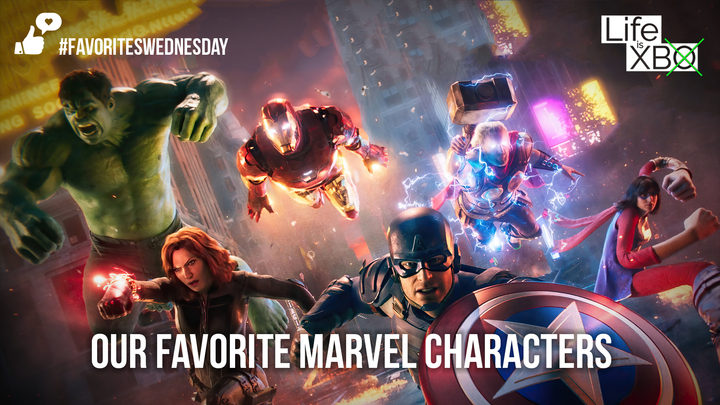 Favorites Wednesday | Marvel characters