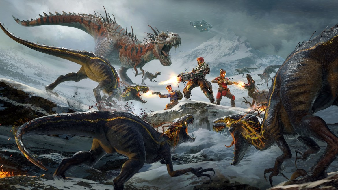 Preview | Second Extinction Early Access
