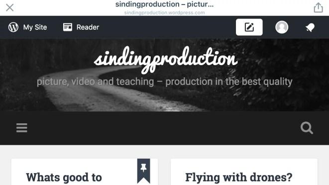 "Ny hjemmeside til Sinding Production – ""LifeLab"""