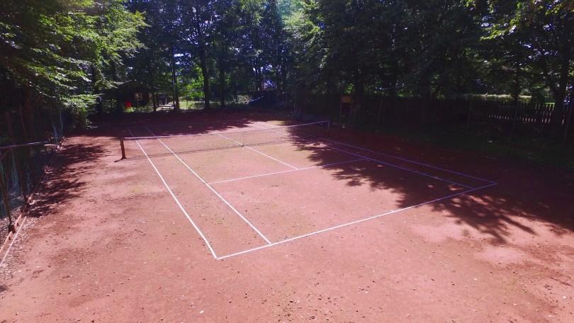 Sunds Sø tennisbane