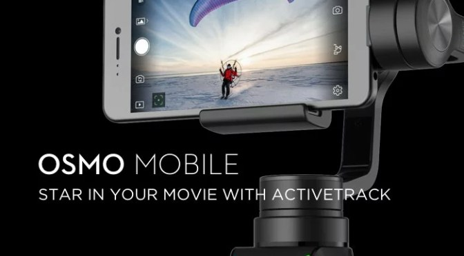 DJI's new OSMO Mobile er for den professionelle selfies nørd