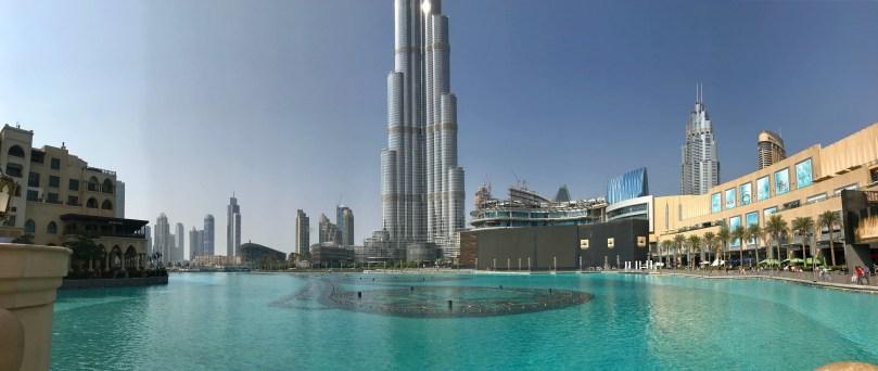 Burh Kalif ved Dubai Mall
