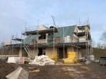 Hus byggeri med Lind og Risør