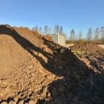 Jordbunke fra husbyggeri