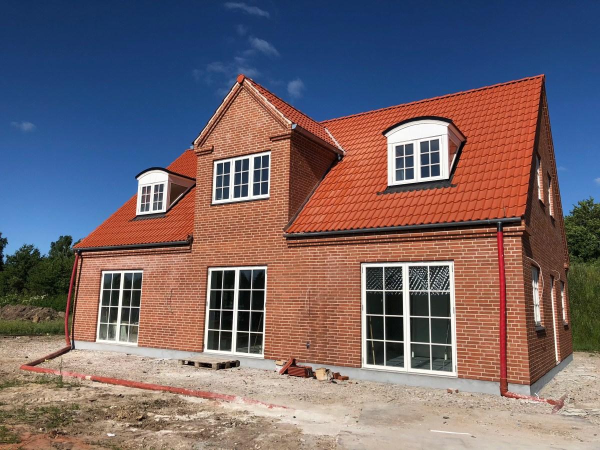 Drømmehuset - vi har valgt at bygge nyt!