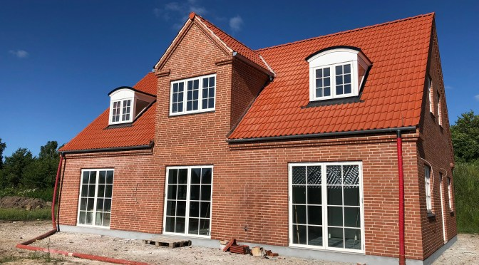 Drømmehuset – vi har valgt at bygge nyt!
