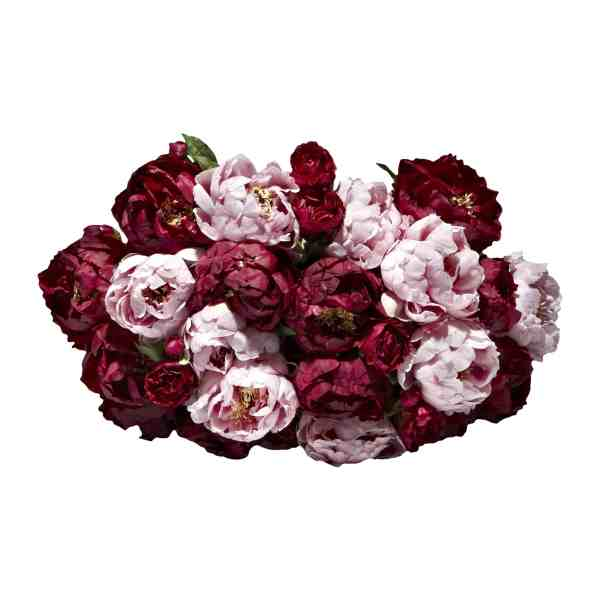 Pink   Burgundy Peony Faux Flower Bouquet   Shop   Lifelike Flowers Love our luxurious artificial flower bouquet full of finely detailed large  heads on long stem lavender