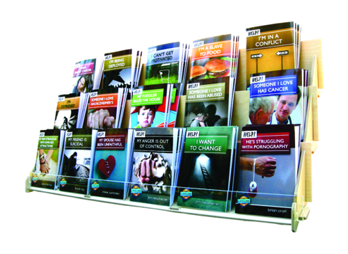 LifeLine Mini-book Display Unit