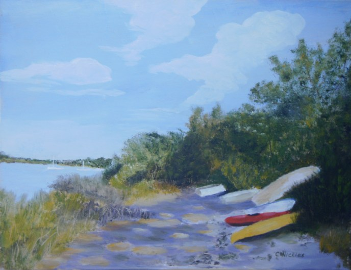 """Wickford Cove"" (oil), NFS"