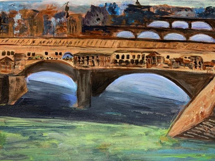 Ponte Vecchio (acrylic), NFS